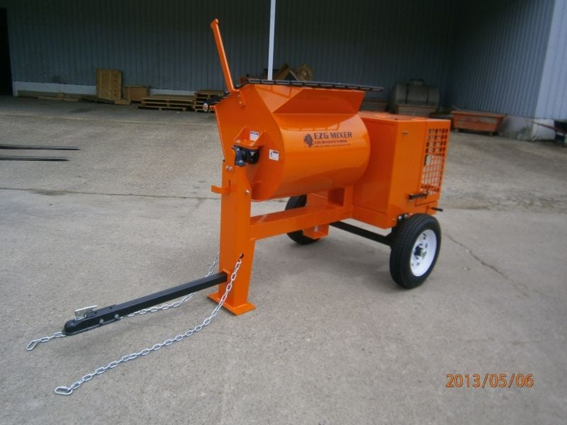 towable ezg mixer