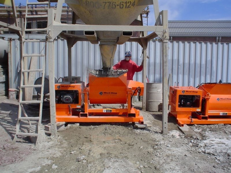 Mud Hogs - Grout, Concrete & Mortar Mixers | EZG Manufacturing