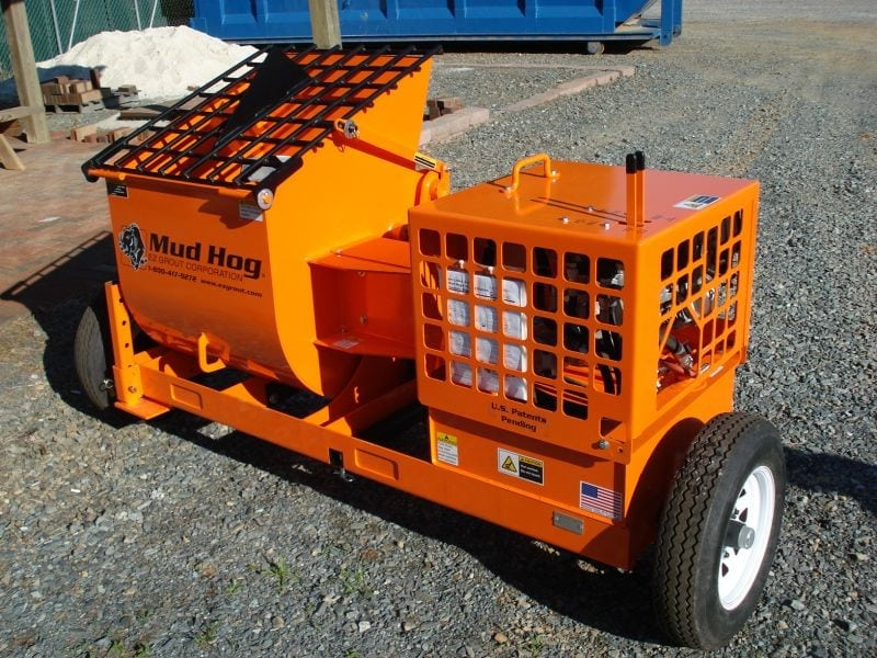 Mud Hogs - Grout, Concrete & Mortar Mixers   EZG Manufacturing
