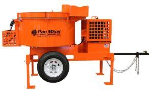 Pan Mixer Side View