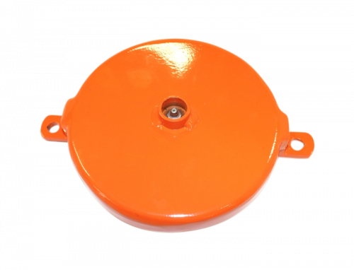 GH-A-20 - GH 7 Inch End Cap With Bushing (Angle Mount)