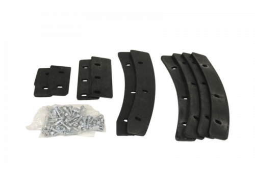 MH-A-63 - Paddle Rubber Kit (with Bolts)