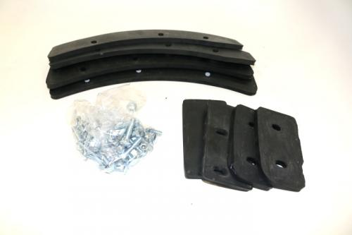 MH9-A-11 - MH9 Paddle Rubber Kit (With Bolts)